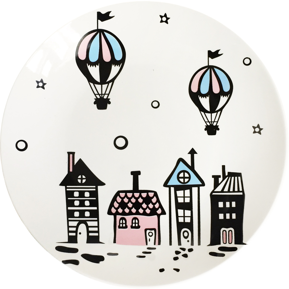 Тарелка Сотвори чудо Воздушный город, диаметр 22 см тарелка сотвори чудо город любви диаметр 22 см