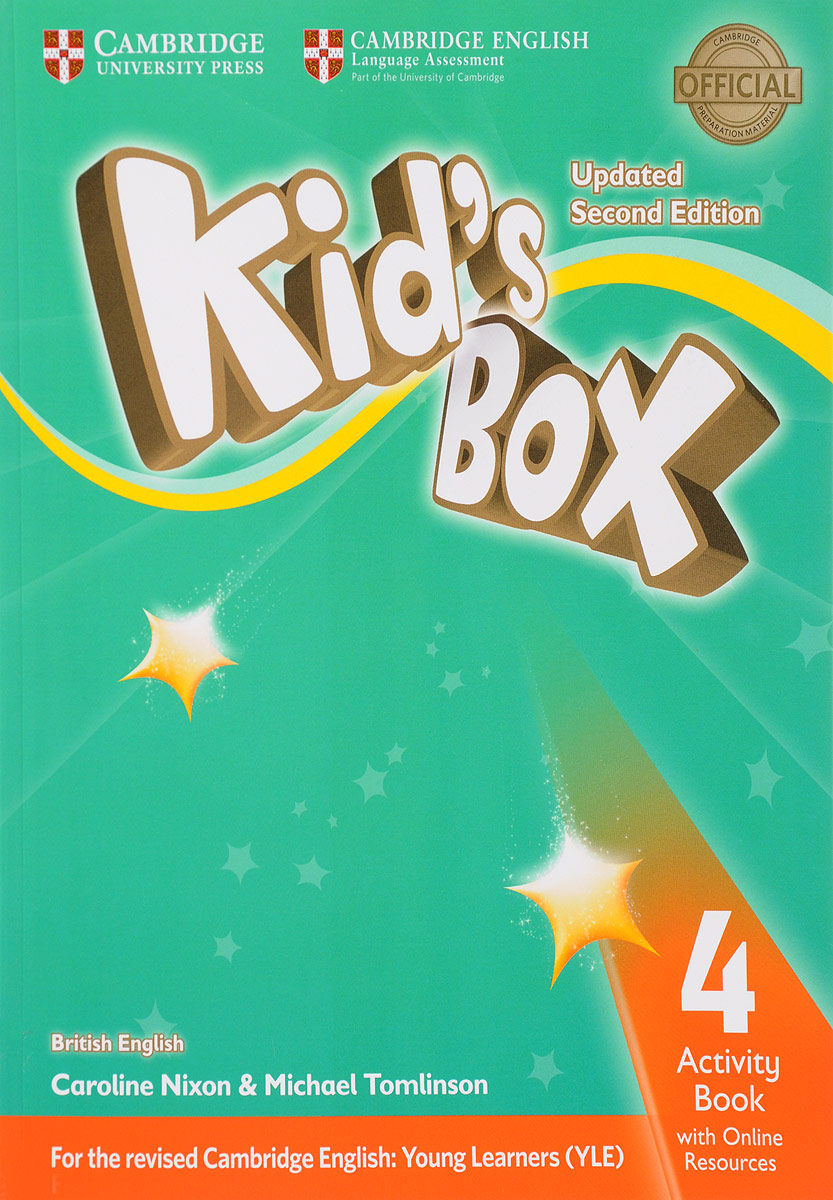 Kid's Box: Activity Book 4 with Online Resource cambridge global english 1 activity book