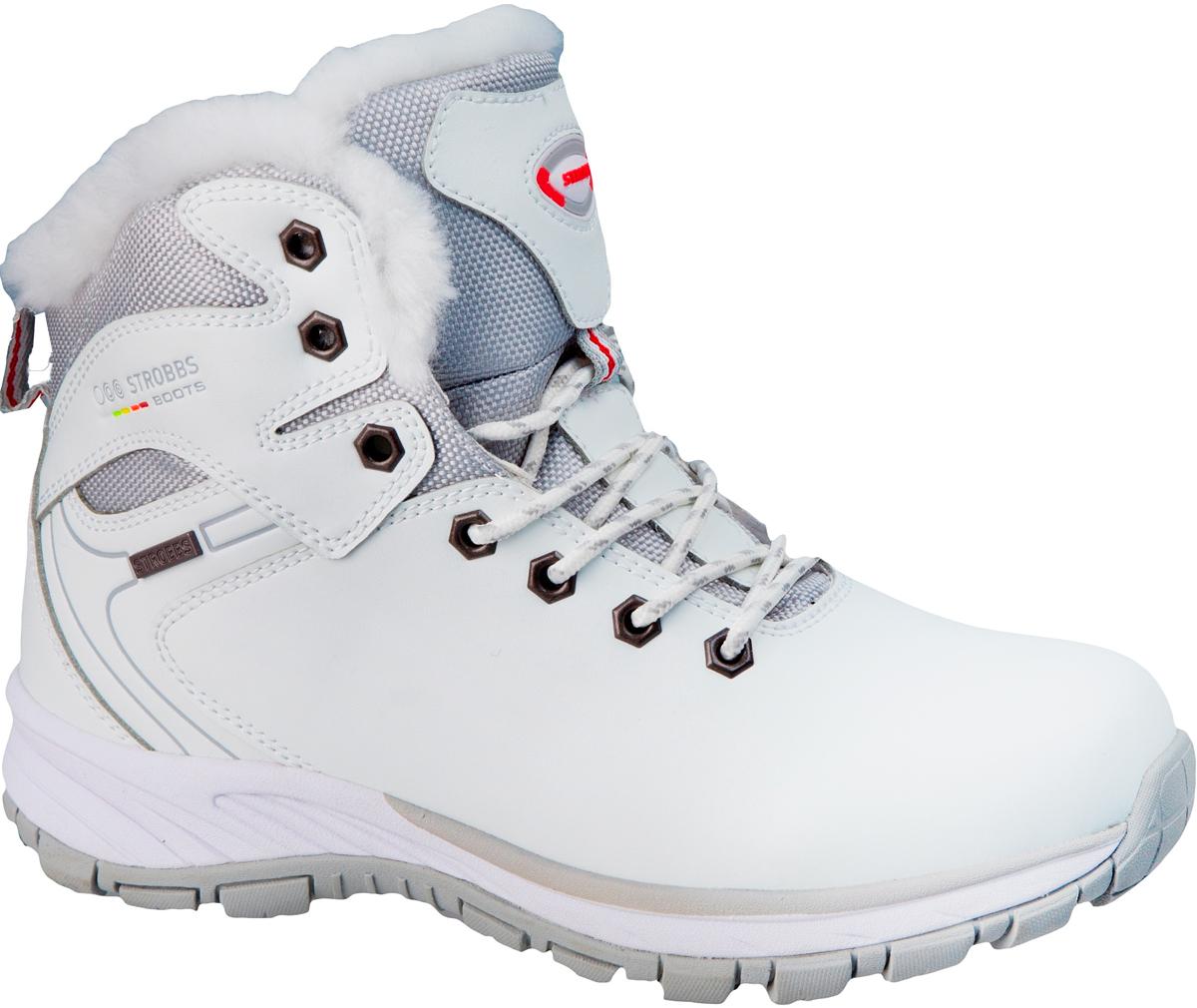 Ботинки женские Strobbs, цвет: белый. F8192-6. Размер 36F8192-6