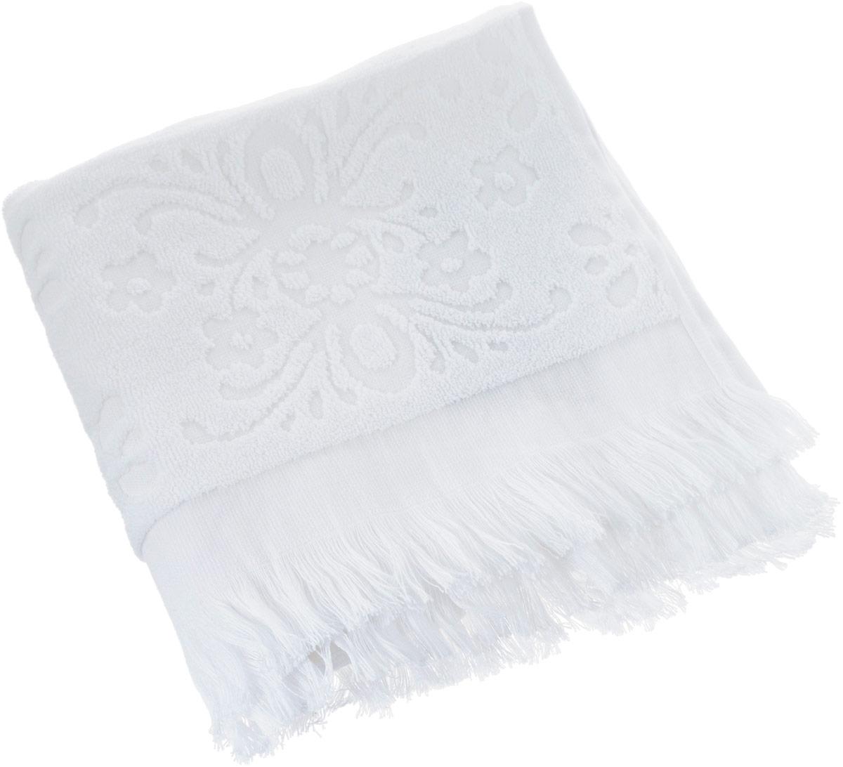 Полотенце Arya Isabel Soft, цвет: белый, 50 x 90 смTR1002487_БелыйПолотенце Arya Isabel Soft выполнено из 100% хлопка. Изделие отлично впитывает влагу, быстро сохнет, сохраняет яркость цвета и не теряет форму даже после многократных стирок. Такое полотенце очень практично и неприхотливо в уходе. Оно создаст прекрасное настроение и украсит интерьер в ванной комнате.