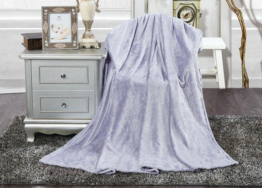 Плед ТД Текстиль Absolute, цвет: сиреневый, 150 х 200 см. 90389 плед тд текстиль absolute цвет серый 150 х 200 см 89560