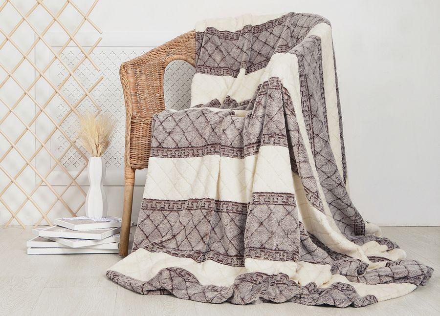 "Плед ТД Текстиль ""Absolute"", цвет: серый, 150 х 200 см. 92516"