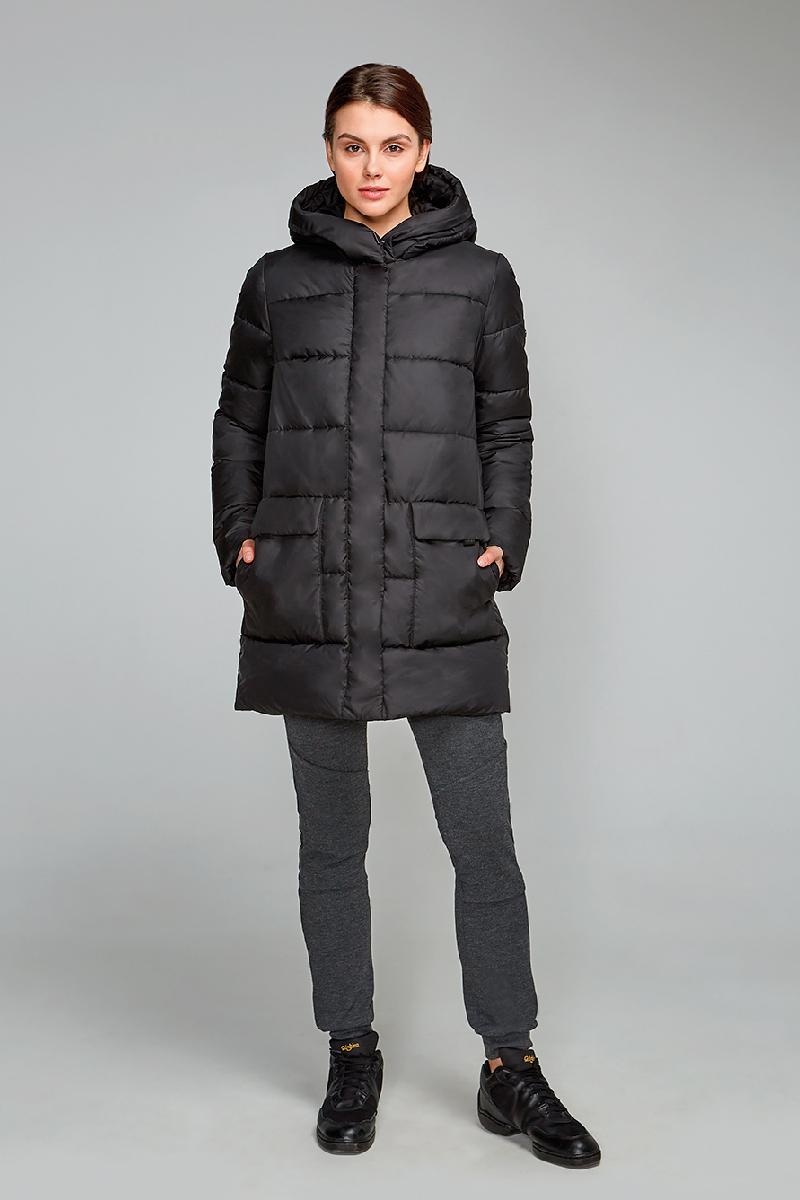 Куртка женская Grishko, цвет: черный. AL - 3294. Размер 42AL - 3294Практичная и модная теплая куртка прямого силуэта изготовлена из водооталкивающей ткани. Молния и глубокий капюшон, с регулируемыми отворотами, дополнительно защищающими от непогоды, закрыты планкой. Большие накладные карманы с боковым и верхним входом под клапанами. Незаменимая модель в холодную зимнюю погоду. Микрофайбер - это утеплитель нового поколения, который отличается повышенной теплоизоляцией, антибактериальными свойствами, долговечностью в использовании, необычайно легок в носке и уходе. Изделие легко стирается в машинке, не теряя первоначального внешнего вида. Комфортная температура носки до минус 20 градусов.