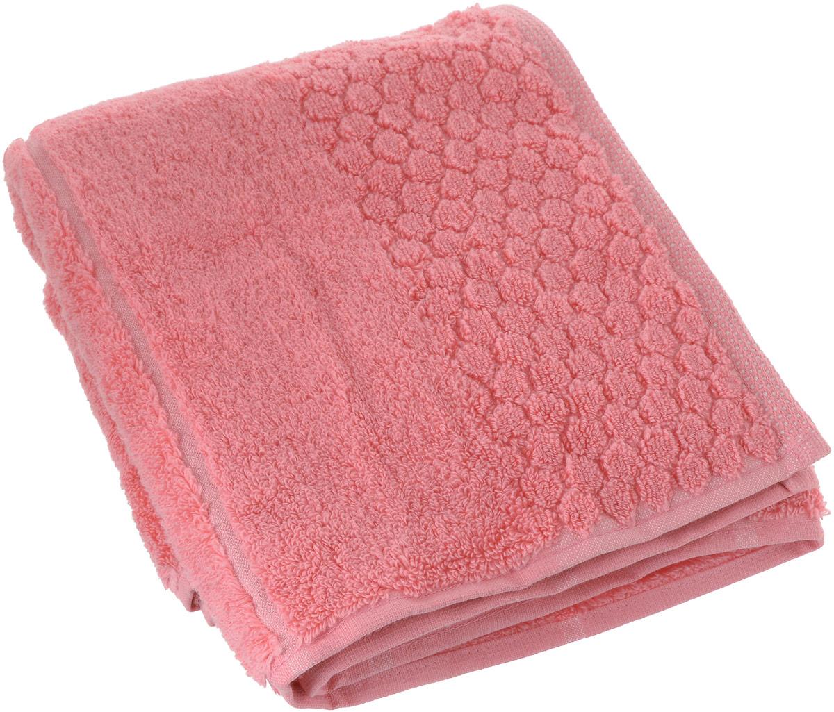 Полотенце Arya Vesper, цвет: коралловый, 50 x 90 см полотенца банные arya полотенце arya maxi crest