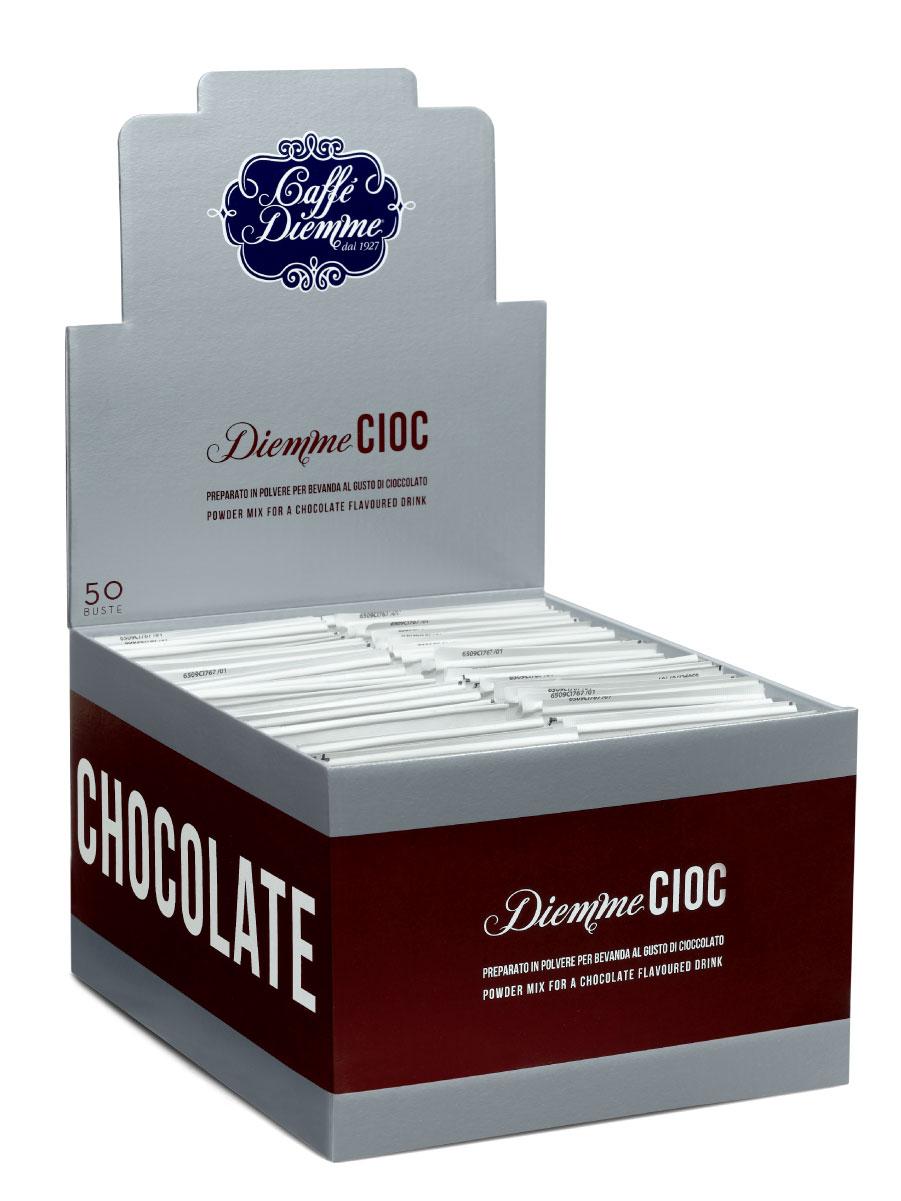 Diemme Caffe Classic Chocolate горячий шоколад, 50 шт 25 г8003866138018Diemme Classic идеален для приготовления классического горячего шоколада.Очень густой, с богатым насыщенным вкусом и ярким ароматом какао. 50 индивидуальных упаковок по 25 гр (1 порция).
