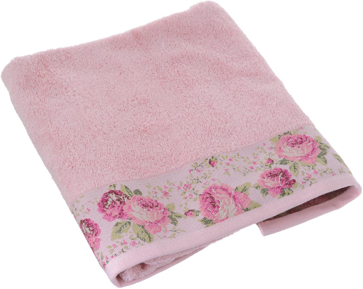 Полотенце Arya Desima, цвет: розовый, 70 x 140 смTR1002517_РозовыйПолотенце Arya Desima выполнено из 100% хлопка. Изделие отлично впитывает влагу, быстро сохнет, сохраняет яркость цвета и не теряет форму даже после многократных стирок. Такое полотенце очень практично и неприхотливо в уходе. Оно создаст прекрасное настроение и украсит интерьер в ванной комнате.
