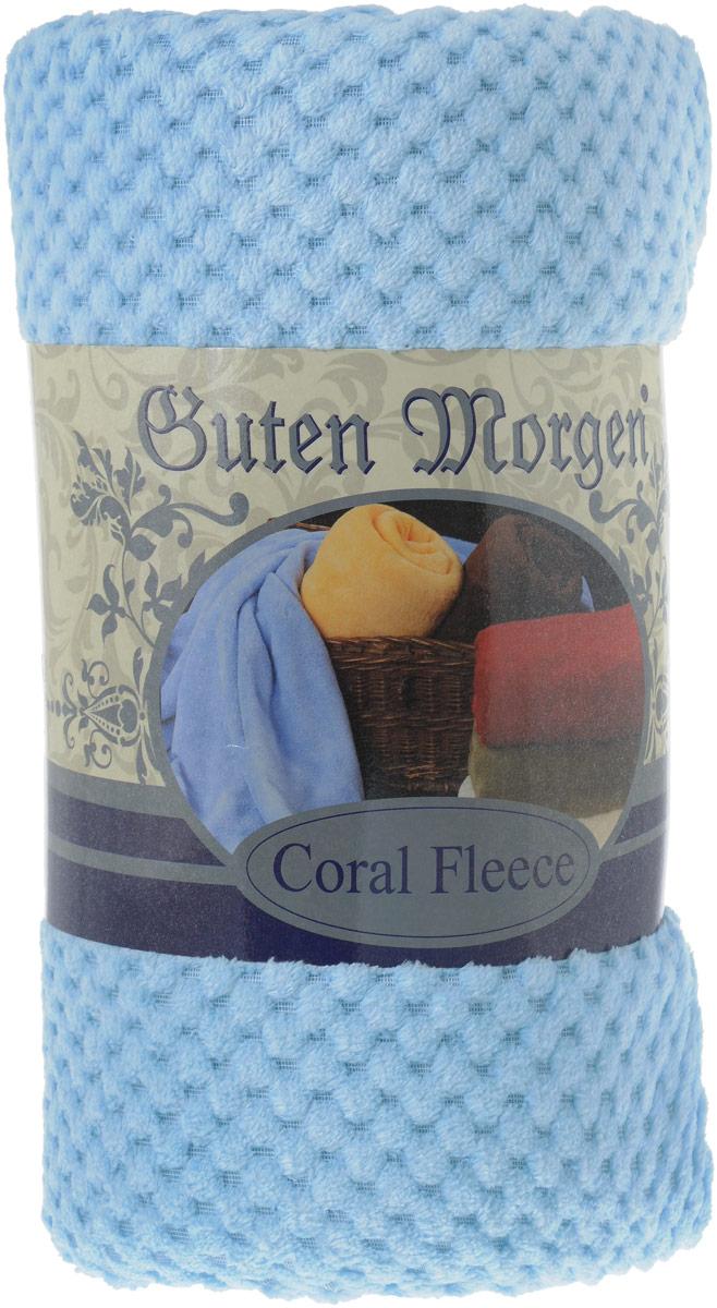 Покрывало Guten Morgen Мимоза, цвет: голубой, 150 х 200 смПКМим-150-200_голубойПокрывало Guten Morgen Мимоза, выполненное из корал-флиса (100% полиэстера), гармонично впишется в интерьер вашего дома и создаст атмосферу уюта и комфорта. Благодаря мягкой и приятной текстуре, глубокому и насыщенному цвету, покрывало станет модной, практичной и уютной деталью вашего интерьера.Такое покрывало согреет в прохладную погоду и будет превосходно дополнять интерьер вашей спальни. Высочайшее качество материала гарантирует безопасность не только взрослых, но и самых маленьких членов семьи.Покрывало может подчеркнуть любой стиль интерьера, задать ему нужный тон - от игривого до ностальгического. Покрывало - это такой подарок, который будет всегда актуален, особенно для ваших родных и близких, ведь вы дарите им частичку своего тепла!