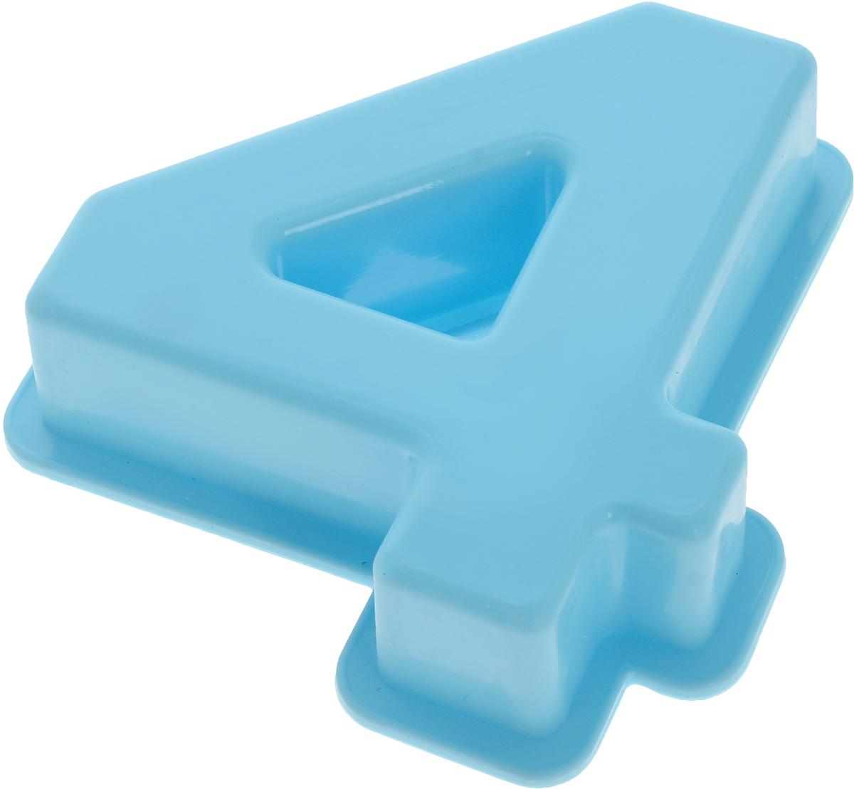 Форма для выпечки Доляна Четыре, силиконовая, цвет: голубой, 9 х 9 х 2,5 см1687464_голубойФорма Доляна Четыре, выполненная из силикона, будет отличным выбором для всех любителей домашней выпечки. Силиконовые формы для выпечки имеют множество преимуществ по сравнению с традиционными металлическими формами и противнями. Нет необходимости смазывать форму маслом. Форма быстро нагревается, равномерно пропекает, не допускает подгорания выпечки с краев или снизу.Вынимать продукты из формы очень легко. Слегка выверните края формы или оттяните в сторону, и ваша выпечка легко выскользнет из формы.Материал устойчив к фруктовым кислотам, не ржавеет, на нем не образуются пятна.Форма может быть использована в духовках и микроволновых печах (выдерживает температуру от -40°С до +250°С), также ее можно помещать в морозильную камеру и холодильник. Можно мыть в посудомоечной машине.Размер формы: 9 х 9 х 2,5 см.