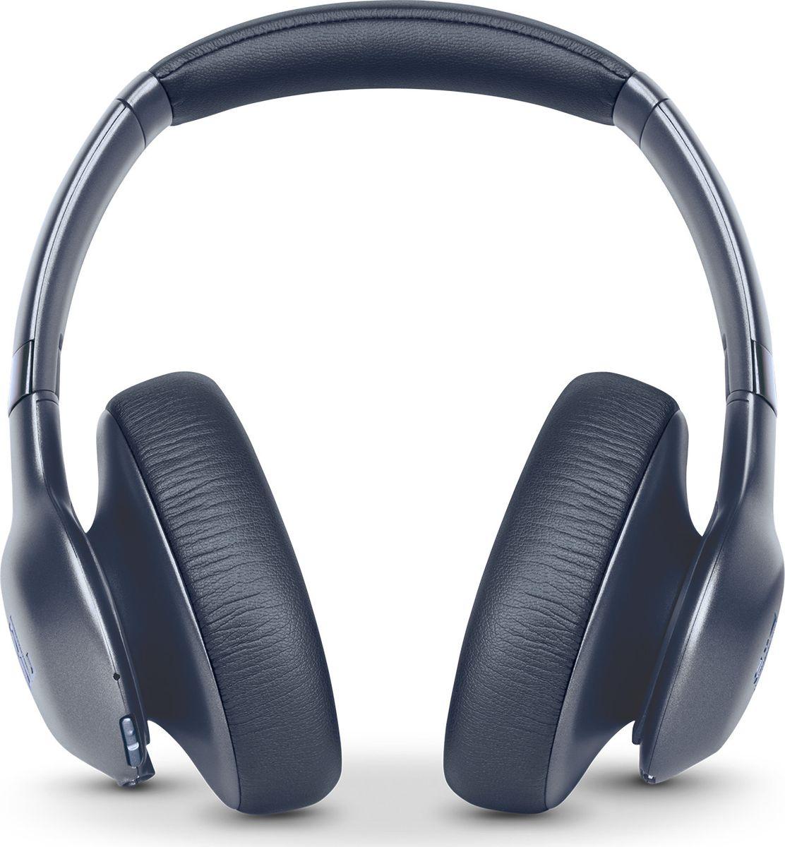 JBL Everest Elite 750NC, Blue наушникиJBLV750NXTBLUНаушники с тщательно продуманной конструкцией предоставляют до 20часов удовольствия от прослушивания без проводов на одной зарядке. В режиме активного шумоподавления (ANC), позволяющем выбирать, какие именно шумы необходимо подавлять, наушники работают до 15 часов. Быстрая 3-часовая зарядка, микрофон с функцией эхоподавления для звонков в режиме «hands-free», легендарное качество звука JBL Pro, компактный чехол для переноски и удобство при складывании делают эти наушники идеальными для путешествий. Созданные из материалов премиумкласса и выполненные в металлических оттенках, эти элегантные наушники предназначены для плотной посадки и долговременного удобства прослушивания. Приложение My JBL Headphones позволяет пользователям загружать обновления для наушников, а также включает функцию автоматической калибровки звука TruNote™ Auto Sound Calibration, предназначенную для индивидуальной настройки звучания в зависимости от прилегания чашек наушников, обеспечивая наилучшее качество звука. Для индивидуальной настройки наушников Everest Elite 750NC можно воспользоваться ПО JBL EVEREST ELITE SDK, удостоенного награды CES в области инноваций за 2017 года. Внастоящее время ПО доступно на сайте www.developer.harman.com. Позвольте себе этот звук.