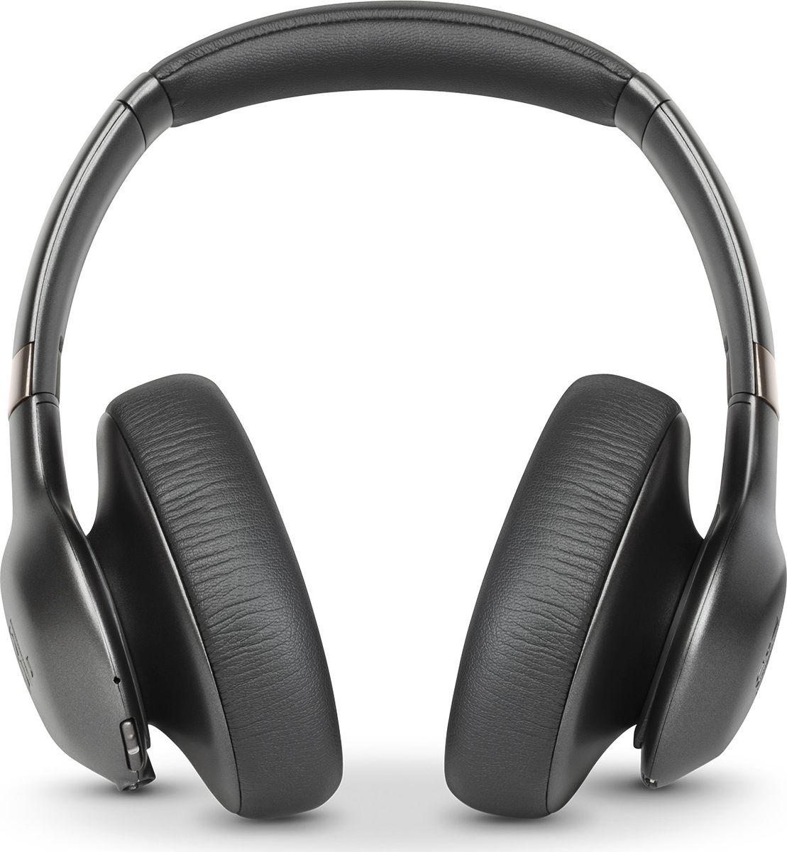 JBL Everest Elite 750NC, Gun Metal наушникиJBLV750NXTGMLНаушники с тщательно продуманной конструкцией предоставляют до 20часов удовольствия от прослушивания без проводов на одной зарядке. В режиме активного шумоподавления (ANC), позволяющем выбирать, какие именно шумы необходимо подавлять, наушники работают до 15 часов. Быстрая 3-часовая зарядка, микрофон с функцией эхоподавления для звонков в режиме «hands-free», легендарное качество звука JBL Pro, компактный чехол для переноски и удобство при складывании делают эти наушники идеальными для путешествий. Созданные из материалов премиумкласса и выполненные в металлических оттенках, эти элегантные наушники предназначены для плотной посадки и долговременного удобства прослушивания. Приложение My JBL Headphones позволяет пользователям загружать обновления для наушников, а также включает функцию автоматической калибровки звука TruNote™ Auto Sound Calibration, предназначенную для индивидуальной настройки звучания в зависимости от прилегания чашек наушников, обеспечивая наилучшее качество звука. Для индивидуальной настройки наушников Everest Elite 750NC можно воспользоваться ПО JBL EVEREST ELITE SDK, удостоенного награды CES в области инноваций за 2017 года. Внастоящее время ПО доступно на сайте www.developer.harman.com. Позвольте себе этот звук.