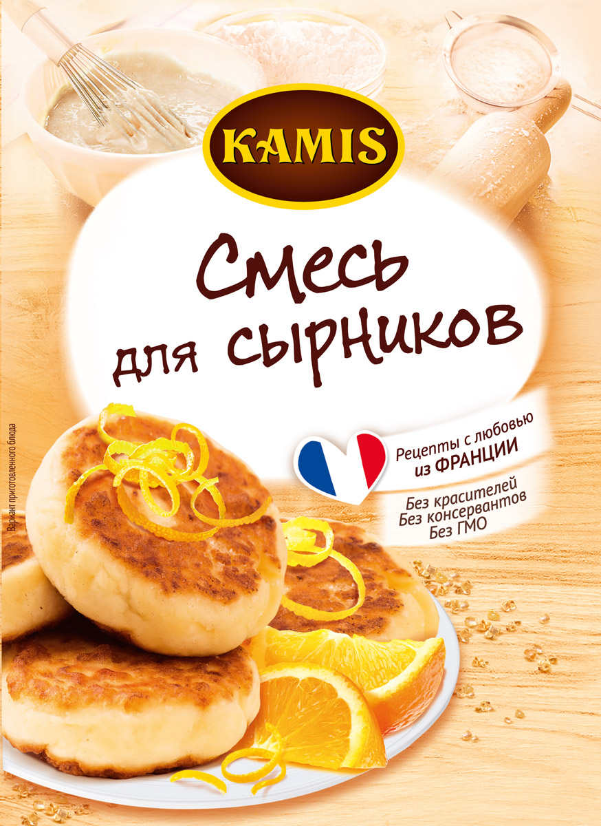 Kamis смесь для сырников, 20 г901453413