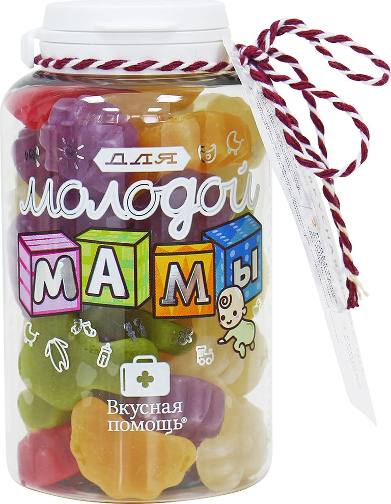 Вкусная помощь Для молодой мамы жевательный мармелад, 190 г конфеты вкусная помощь для храбрости 250 мл