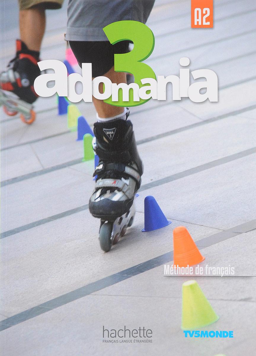 Adomania 3: Livre de l'eleve (+ DVD-ROM) le rouge et le noire