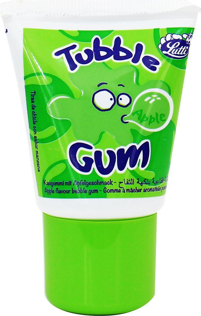 Tubble Gum Apple жидкая жевательная резинка в тюбике со вкусом зеленого яблока, 35 г coris gum gum 5 ассорти жевательная резинка 38 г