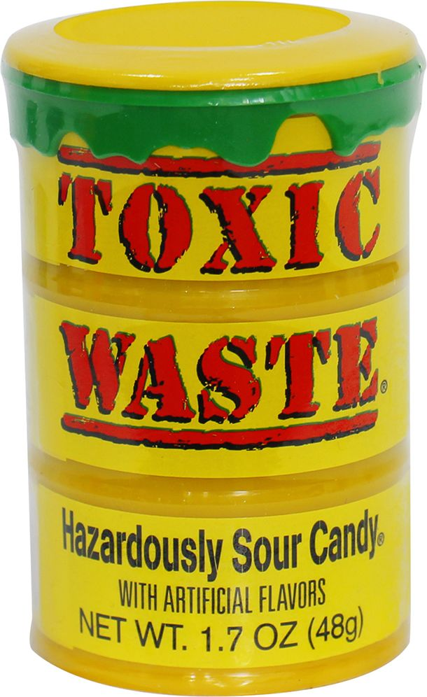 Toxic Waste кислые конфеты, 48 г конфеты jelly belly 100g
