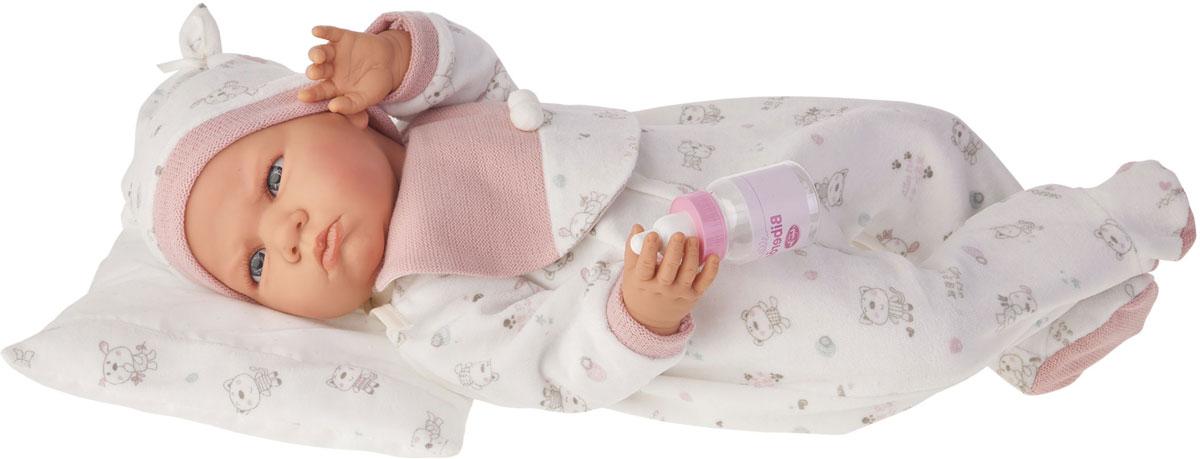 Juan Antonio Кукла озвученная Бертина цвет одежды розовый весна кукла озвученная инна цвет одежды белый синий