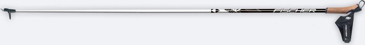 """Палки беговые Fischer """"RC3"""" - лучший выбор для любителей. Алюминиевая модель с прочной пробковой рукояткой и гоночным темляком Race.   Основные технологии: - Aluminium Shaft 6013. - Filled Cork Grip. - Race Strap.    Как выбрать беговые лыжи. Статья OZON Гид"""