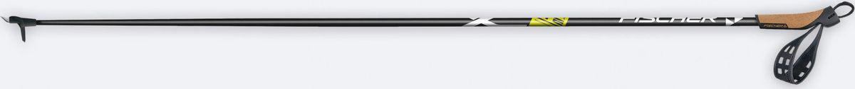 Палки беговые Fischer Superlight, длина 160 см. Z44016 лыжи беговые tisa top universal с креплением цвет желтый белый черный рост 182 см