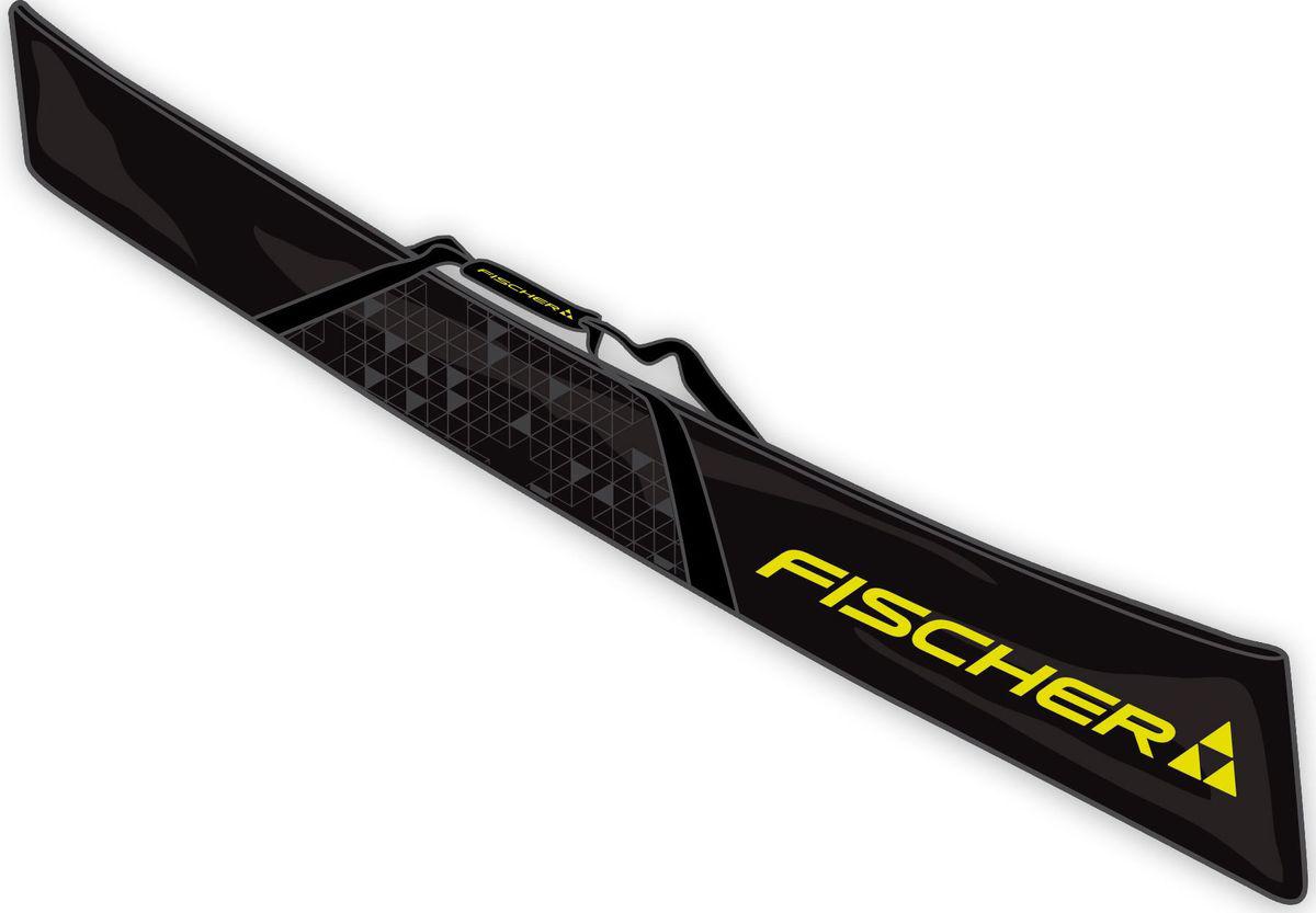 Лыжный чехол Fischer Есо XC, на 1 пару, длина 210 см. Z02417Z02417Легкий, удобный лыжный чехол Fischer Есо XC, выполненный из полиэстера, предназначен на 1 пару лыж. Чехол имеет двусторонний замок, ремень для переноски. Длина: 210 см.