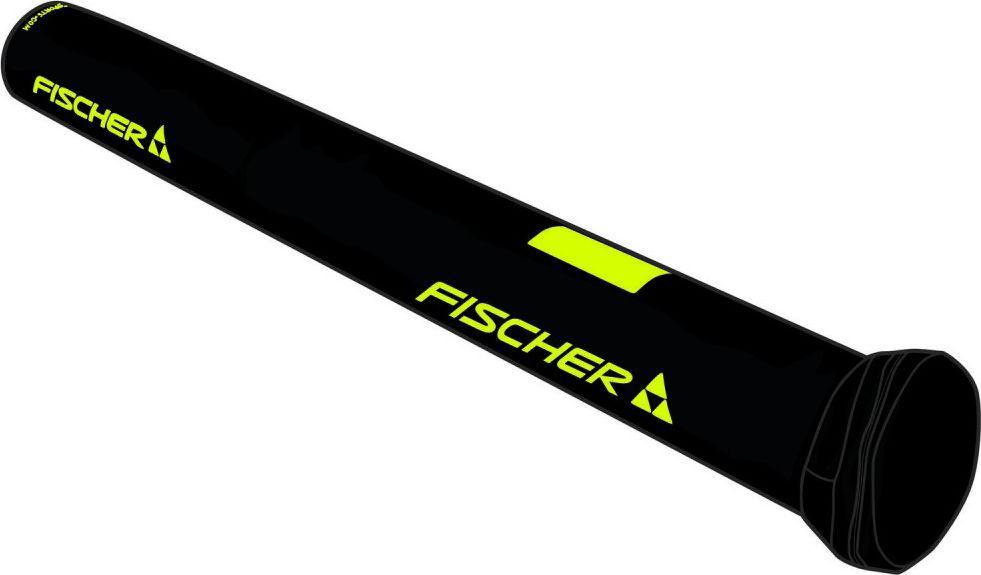 Чехол для палок Fischer Есо XC, на 3 пары, длина 195 смZ02911Чехол для палок Fischer Есо XC изготовлен из полиэстера, полиамида и полиуретана. Изделие имеет контрукцию прочной трубы и предназначена для трех пар палок. На дне имеется вентиляционное отверстие.