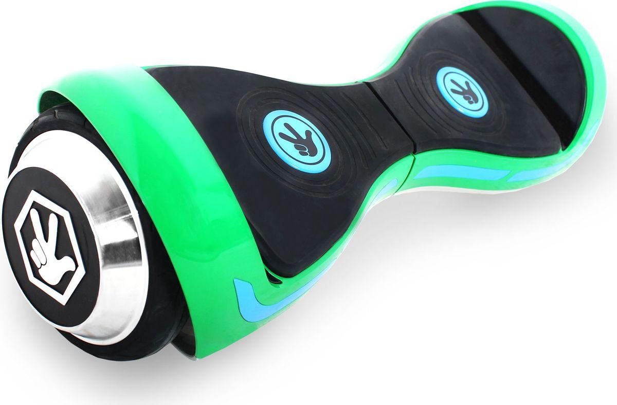 Гироскутер Hoverbot Фиксиборд, детский, цвет: зеленый hoverbot g 6