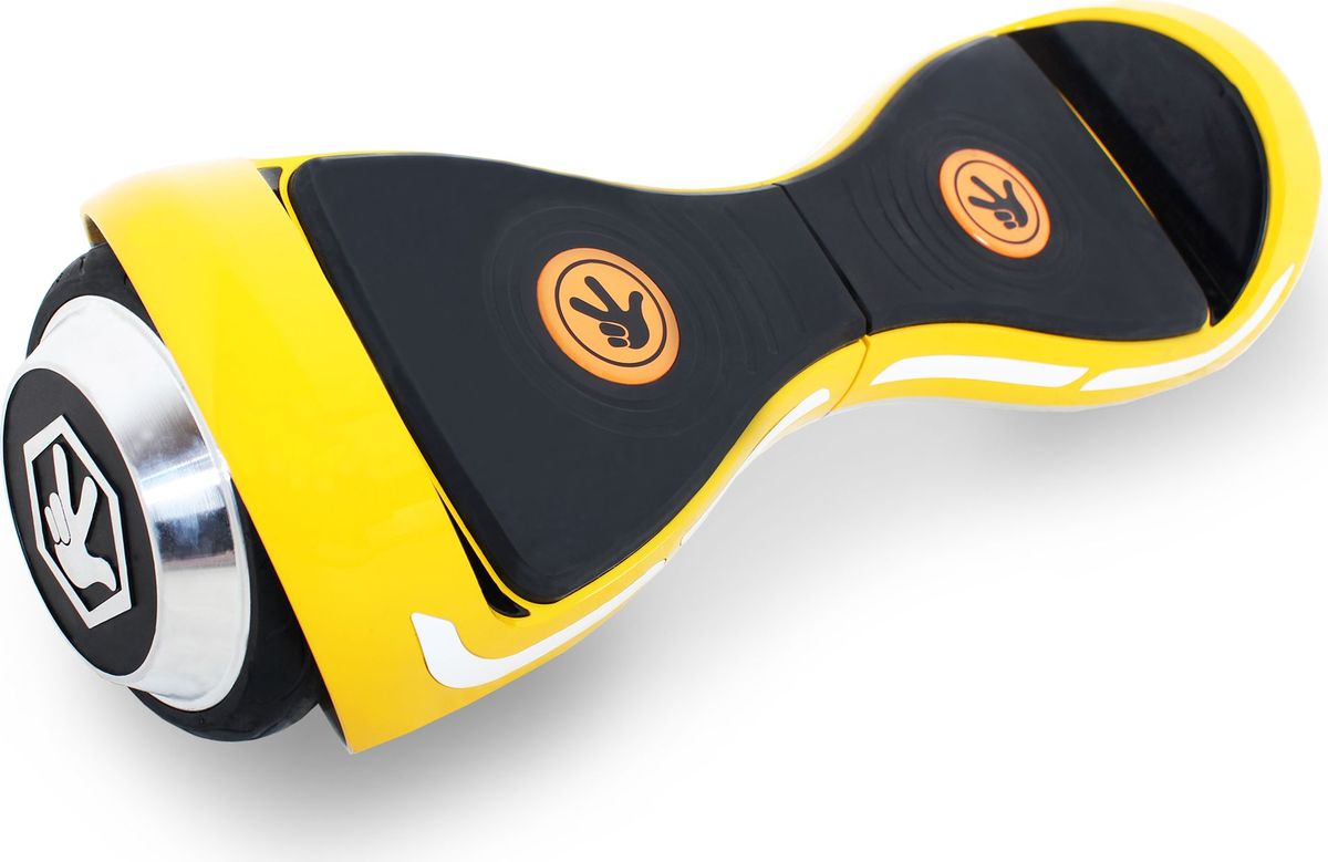 Гироскутер Hoverbot Фиксиборд, детский, цвет: желтыйFXSIMЭксклюзив от Hoverbot - гироскутер Фиксиборд! Станьте обладателем уникального транспорта Нолика, Верты, Фаера или Симки! Небольшой диаметр колес отлично подойдет для катания по ровному асфальту. Научиться кататься на нем очень легко! К каждому Фиксиборду идёт комплект защиты: шлем, налокотники, наколенники, перчатки - для безопасного катания. Так же у Фиксибордов встроенный Bluetooth и колонки. Можно включать любимые фиксипелки через устройство и наслаждаться прогулкой! Подарите ребенку радость!