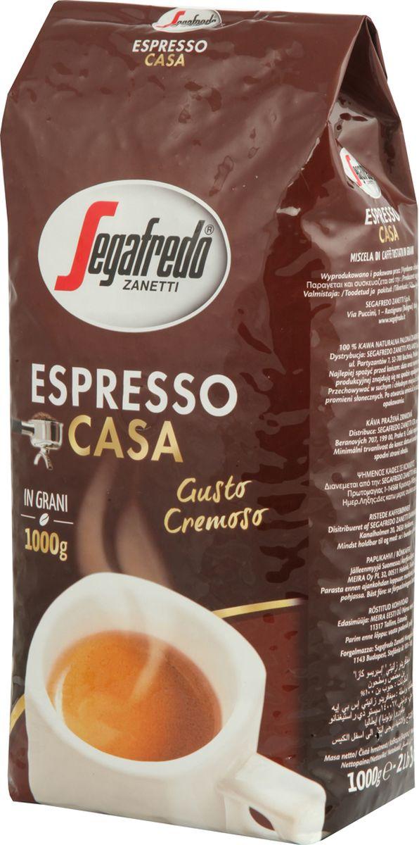 Segafredo Espresso Casa кофе в зернах, 1 кг8003410311089Кофе Segafredo Espresso Casa создан профессионалами кофе, которые подготовили сбалансированную смесь высшего сорта Арабики и Робусты, придающую напитку насыщенный сливочный вкус и интенсивный аромат.В точности как эспрессо из настоящей итальянскойКофе: мифы и факты. Статья OZON Гид