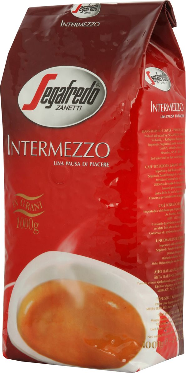 Segafredo Intermezzo кофе в зернах, 1 кг