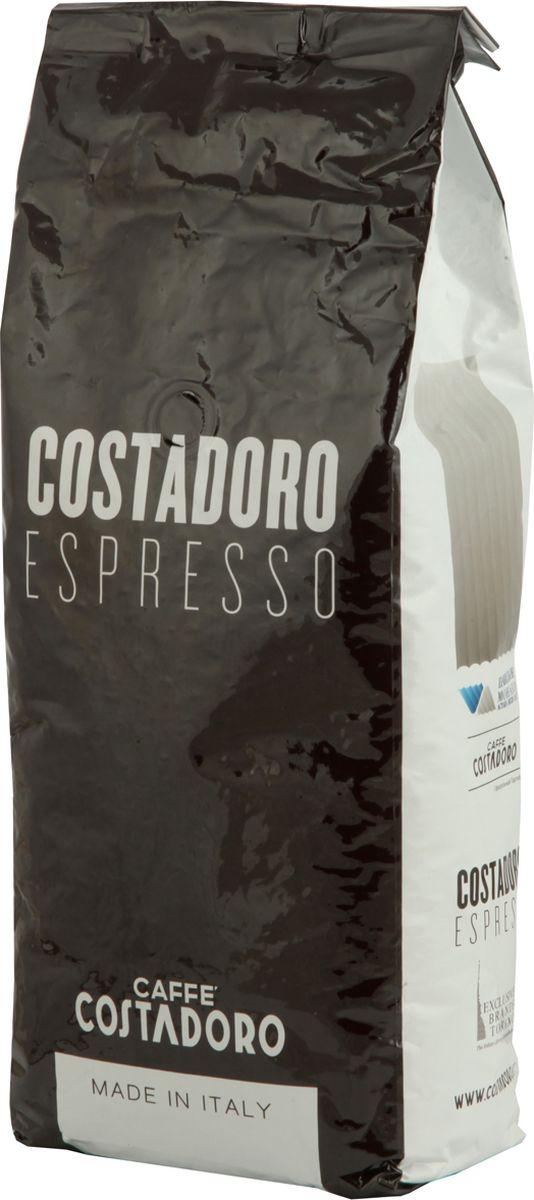 Costadoro Espresso Coffee кофе в зернах, 1 кг8012470000024Кофе Костадоро Еспрессо Коффее - Сбалансированный кофе с интенсивным ароматом. Имеет низкий уровень кислоты и крем темно-орехового цвета. Средняя обжарка. Зерно - 1000гр. 90% - Арабика; 10% - Робуста.