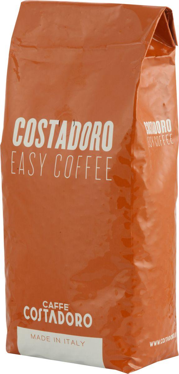 Costadoro Easy Coffee кофе в зернах, 1 кг8012470000802Кофе Костадоро Изи Коффее - Смесь лучших сортов высокогорной арабики и робусты. Обладает необыкновенным ароматом с ореховыми нотками. Напиток плотный, с нежным мягким вкусом. Средняя обжарка. Зерно - 1000 гр. Арабика - 60%; Робуста - 40%.