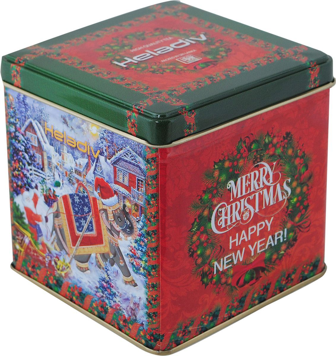 Heladiv Winter Elephant Opa Tin черный чай, 250 г4791007010692100% цейлонский черный чай байховый крупнолистовой