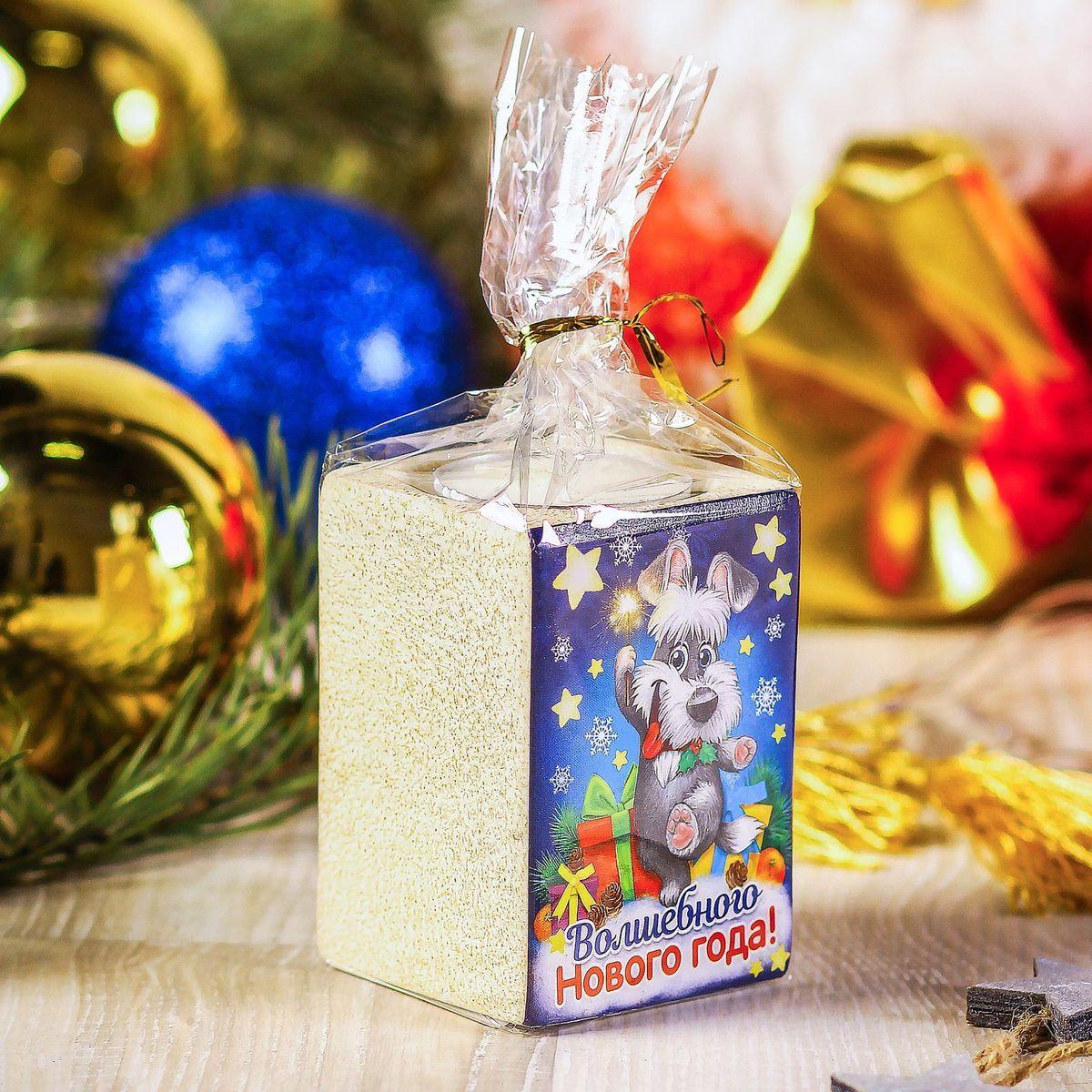 Подсвечник Sima-land Волшебного Нового года 5,5 х 7,5 см2248044Создать романтичную атмосферу в самую волшебную ночь года поможет Подсвечник со свечой Волшебного Нового Года. Мерцающий свет от одного или нескольких изделий наполнит комнату теплом и принесёт новогоднее настроение.Сувенир станет приятным сюрпризом или отличным дополнением к основному подарку.Внимание! Расставляйте зажжённые свечи аккуратно, вдали от легковоспламеняющихся предметов.