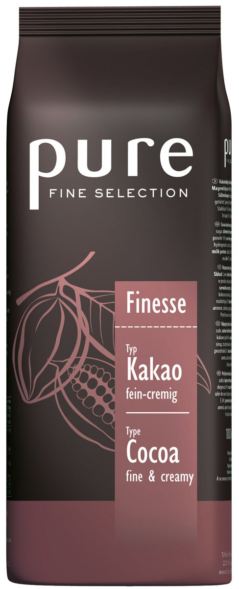 Tchibo Pure Fine Selection Finesse горячий шоколад, 1 кг