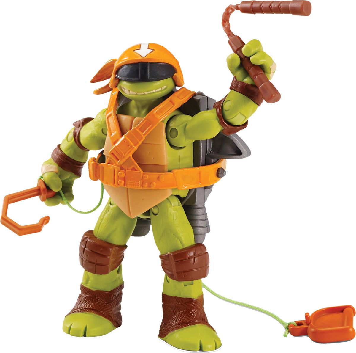 Черепашки Ниндзя Фигурка Микеланджело-шпион игровой набор turtles боевое снаряжение черепашки ниндзя микеланджело 4 предмета