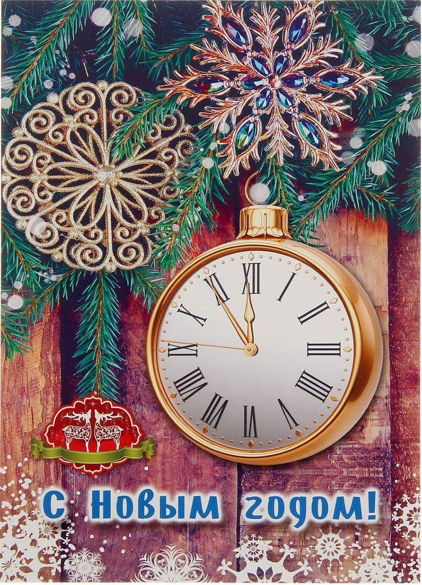 Проф-Пресс Блокнот цвет коричневый1776274Блокнот с яркой новогодней обложкой приятно удивит получателя. Сувенир сохранит списки дел, заметки, важную информацию и раскроет творческий потенциал владельца.
