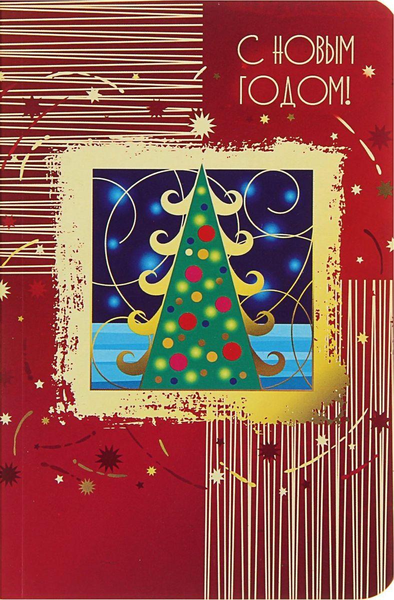 Проф-Пресс Блокнот С новым годом! Елка в рамке1776288Блокнот с яркой новогодней обложкой приятно удивит получателя. Сувенир сохранит списки дел, заметки, важную информацию и раскроет творческий потенциал владельца.