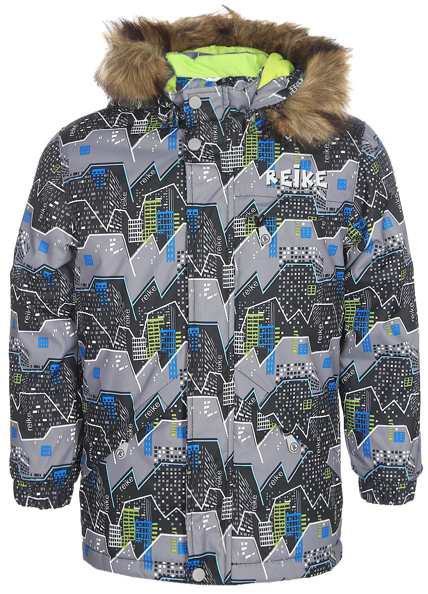 Куртка для мальчика Reike, цвет: серый. 399001_MNT grey. Размер 116399001_MNT grey