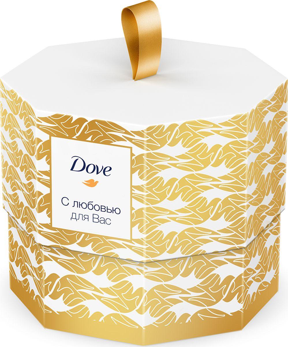 Подарочный набор Dove с любовью для Вас dove крем мыло прикосновение свежести 135г