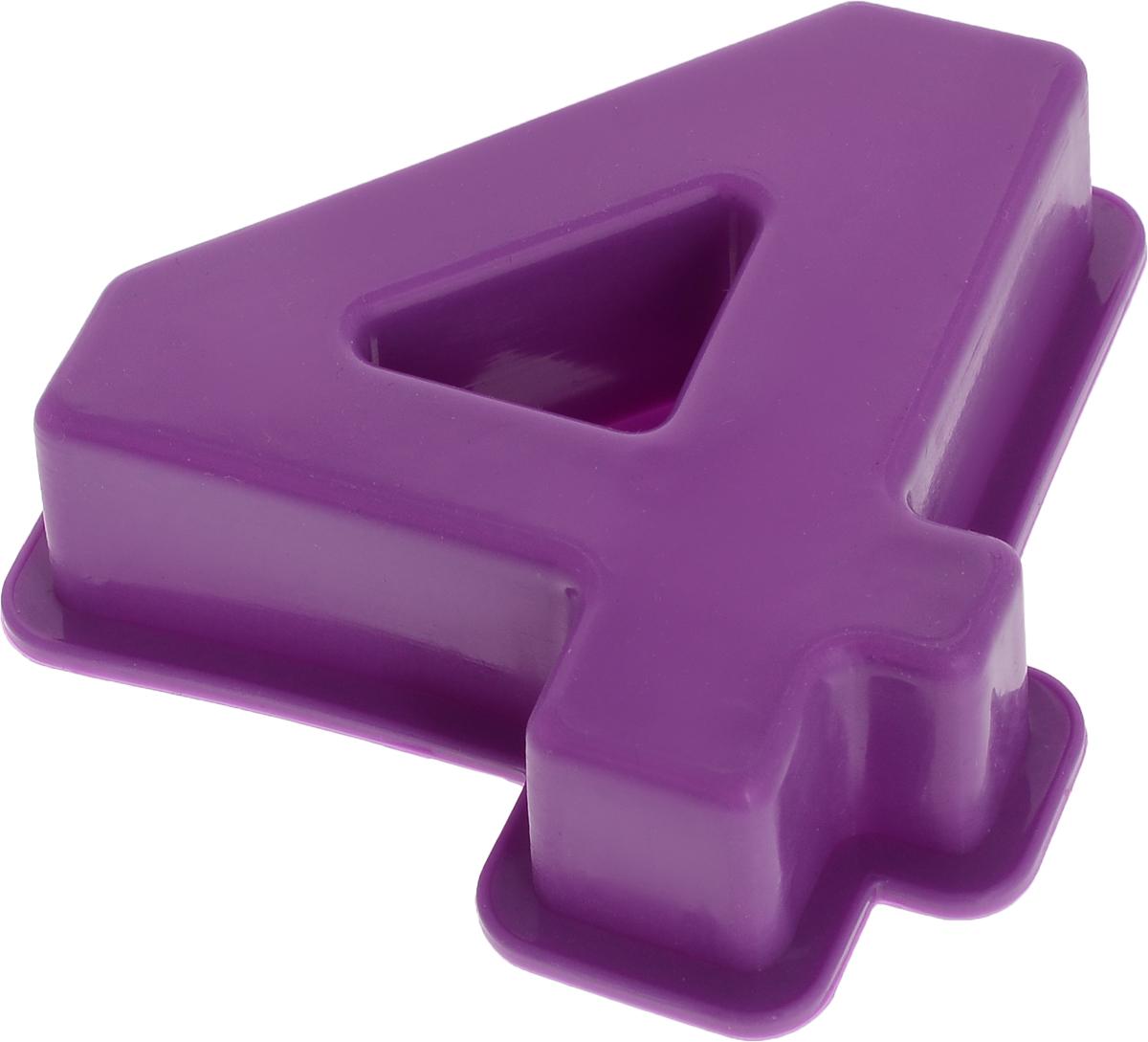 Форма для выпечки Доляна Четыре, силиконовая, цвет: фиолетовый, 9 х 9 х 2,5 см1687464_фиолетовыйФорма Доляна Четыре, выполненная из силикона, будет отличным выбором для всех любителей домашней выпечки. Силиконовые формы для выпечки имеют множество преимуществ по сравнению с традиционными металлическими формами и противнями. Нет необходимости смазывать форму маслом. Форма быстро нагревается, равномерно пропекает, не допускает подгорания выпечки с краев или снизу.Вынимать продукты из формы очень легко. Слегка выверните края формы или оттяните в сторону, и ваша выпечка легко выскользнет из формы.Материал устойчив к фруктовым кислотам, не ржавеет, на нем не образуются пятна.Форма может быть использована в духовках и микроволновых печах (выдерживает температуру от -40°С до +250°С), также ее можно помещать в морозильную камеру и холодильник. Можно мыть в посудомоечной машине.Размер формы: 9 х 9 х 2,5 см.