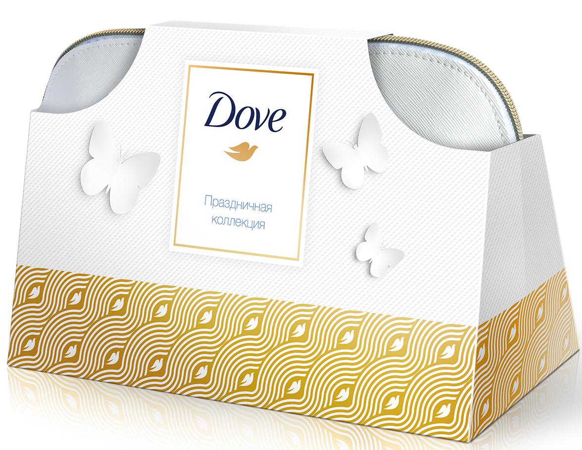 Подарочный набор Dove Праздничная коллекция в косметичке67278985Крем-мыло Dove Красота и уход 100 г, крем-гель для душа Dove Глубокое питание и увлажнение 250 мл, антиперспирант Dove Оригинал 50 мл, шампунь Dove Hair Therapy Интенсивное восстановление 250 мл и косметичка Dove в подарок!Откройте для себя праздничную коллекцию с бережными средствами ежедневного ухода от Dove.Крем-мыло Dove Красота и уход - первый шаг к красоте Вашей кожи. Благодаря 1/4 увлажняющего крема оно питает кожу, делая ее более шелковистой.Крем-гель для душа Dove Глубокое питание и увлажнение с комплексом NutrimMoisture™ бережно очищает и ухаживает.Шампунь Dove Hair Therapy Интенсивное восстановление действует мгновенно, восстанавливая даже сильно поврежденные волосы.Антиперспирант Dove Оригинал обеспечивает эффективную защиту на 48 часов и восстанавливает кожу после бритья.Забота о себе еще никогда не была столь приятной!