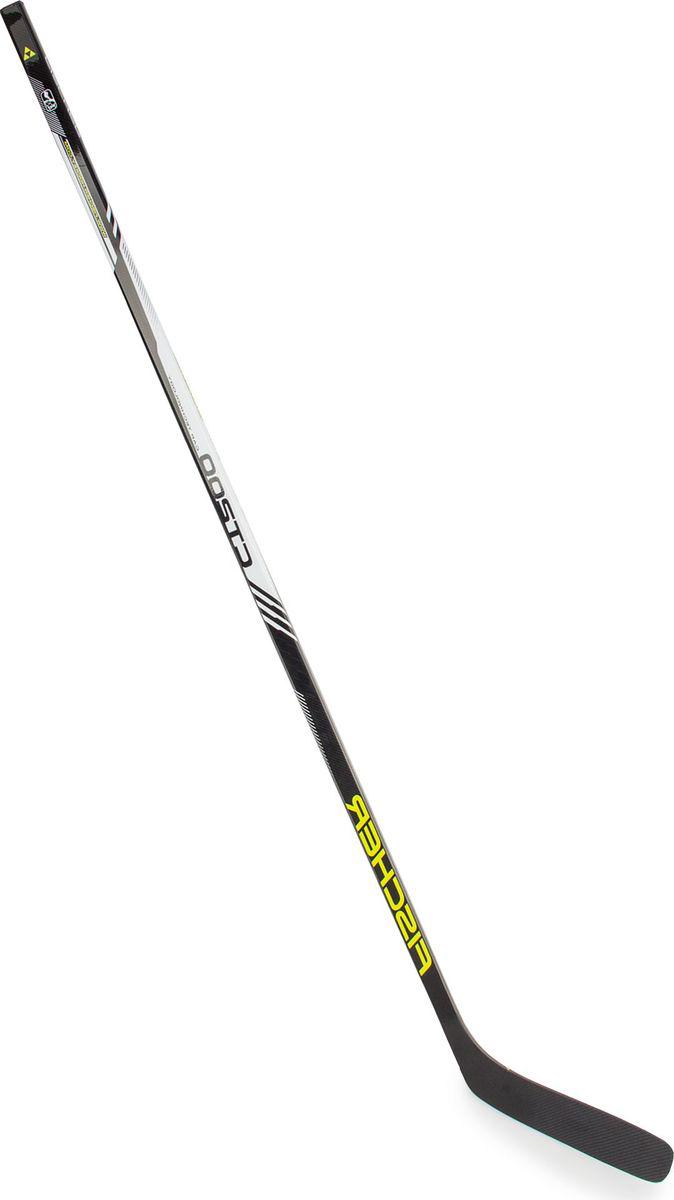 Хоккейная клюшка Fischer CT200 Grip, загиб 4RH12316,60,085Клюшка хоккейная Fischer CT200 Grip имеет цельнолитую конструкцию Mono-Comp-Tech, исключающую дополнительную склейку крюка и трубы, в результате чего снижается вес клюшки, и улучшаются ее игровые характеристики. При изготовлении трубы клюшки используется смесь стекловолокна и карбона, что придает этой модели отличную прочность, легкость. Дополнительное покрытие трубы микропленкой, выполненное по технологии Cap Tech, увеличивает прочность и надежность клюшки, предотвращая появление трещин и сколов на трубе от колюще-режущих ударов коньков или клюшек. Использование технологии Responsive Hosel Tech позволяет улучшить распределение энергии и повысить торсионную жесткость соединительного рукава, повысив тем самым отклик клюшки и точность бросков. Форма трубы клюшки круглая. Труба имеет противоскользящее покрытие.Материалом крюка является высокопрочный ABS пластик и карбоновое волокно, обеспечивающее крюку легкий вес и отличную прочность. Крюк имеет облегченную и надежную конструкцию и выполнен по технологии Poly-Air-Bond Blade, что гарантирует отличный отклик крюка и великолепное чувство шайбы. Клюшка с таким крюком может использоваться для игры на различных покрытиях, в том числе на улице, на асфальте. Stick H12316.Senior: 60.Хват: Round.Жесткость: 85.Загибы: 4.Вес: 550 г.Конструкция:Крюк ABS/Carbon.Ручка Composite.Технологии: - Cap Tech.- RHT.- Poly-Air-Bond-Blade.- Mono-Comp-Tech.