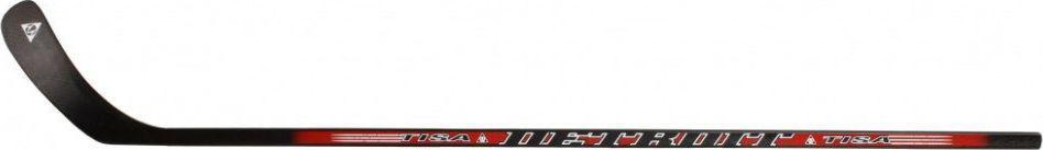 Клюшка хоккейная Tisa Detroit PRO, загиб RH40115,60Длина клюшки, см: 152Клюшка хоккейная Tisa Detroit PRO имеет ручку из прессованной фанерной плиты, усиленной шпоном и круговую окраску. Крюк выполнен из березового шпона и стекловолокна, имеет вставки из ABS-пластика.Загиб крюка: правый.
