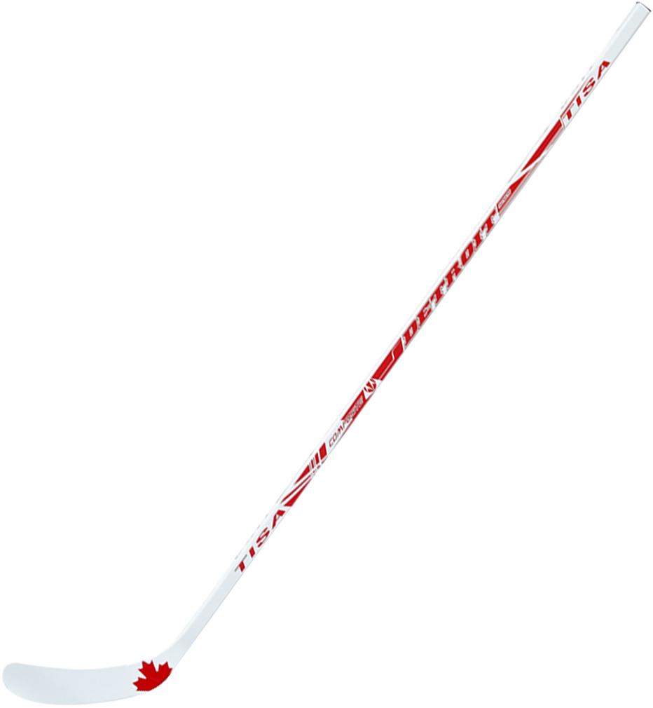Клюшка хоккейная Stick Tisa Detroit Composite, загиб 92LH40816,60,085Длина клюшки, см: 147Загиб крюка: Левый Ручка: прессованная фанерная плита, круговая окраскаКрюк: березовый шпон, стекловолокноЖесткость: 85