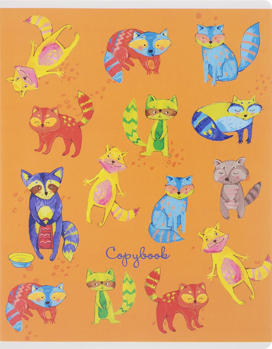 Феникс+ Тетрадь Забавные животные 48 листов в клетку цвет оранжевый44545_оранжевыйФеникс+ Тетрадь Забавные животные 48 листов в клетку цвет оранжевый