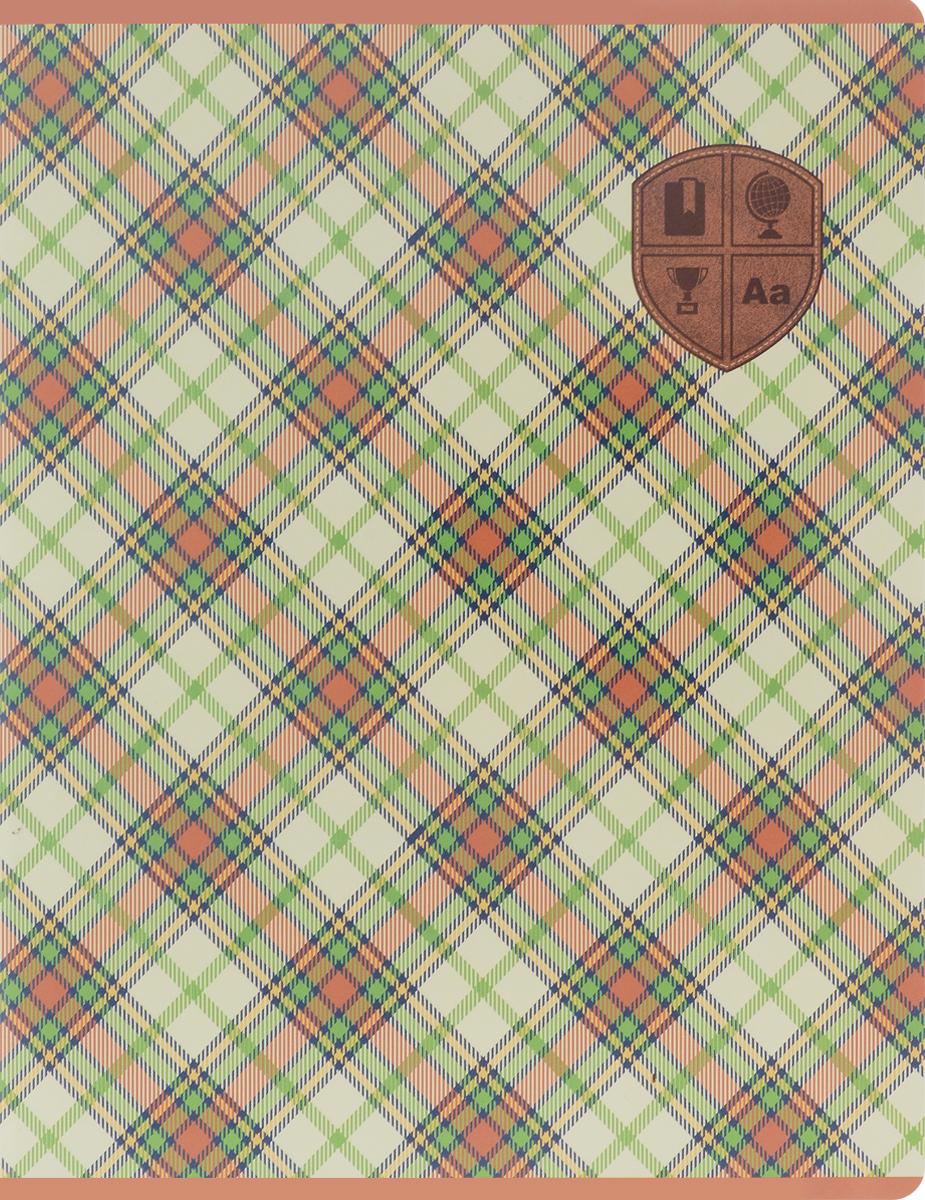 Феникс+ Тетрадь Шотландка 48 листов в клетку цвет зеленый44531_зеленыйФеникс+ Тетрадь Шотландка 48 листов в клетку цвет зеленый