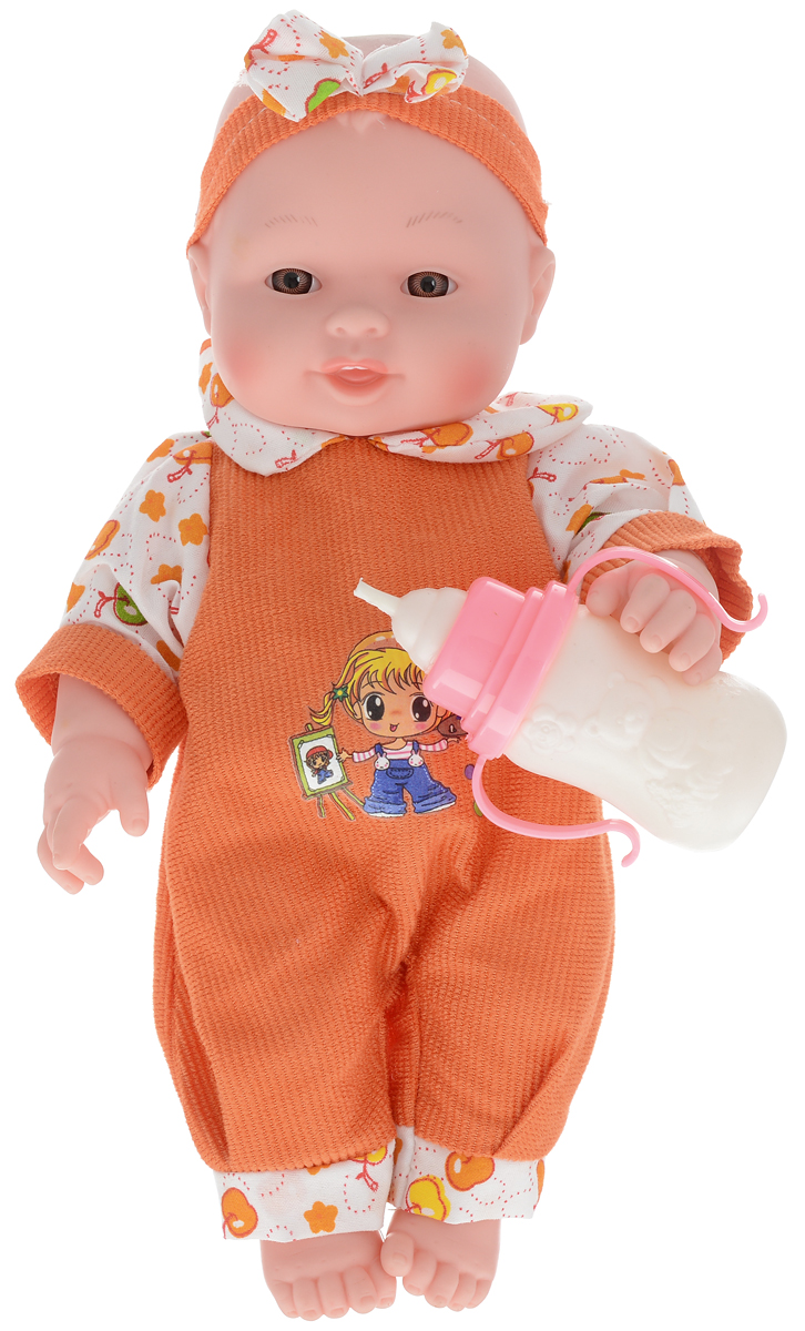 Veld-Co Пупс озвученный цвет одежды оранжевый аксессуары veld co набор переводных татуировок черепа