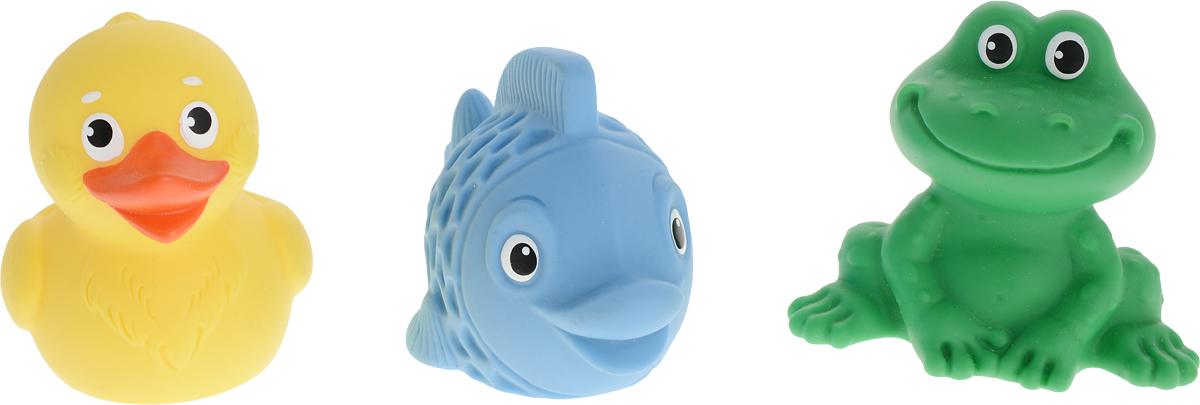 Весна Набор игрушек для ванной Для малышей 3 шт весна набор для ванной лягушки
