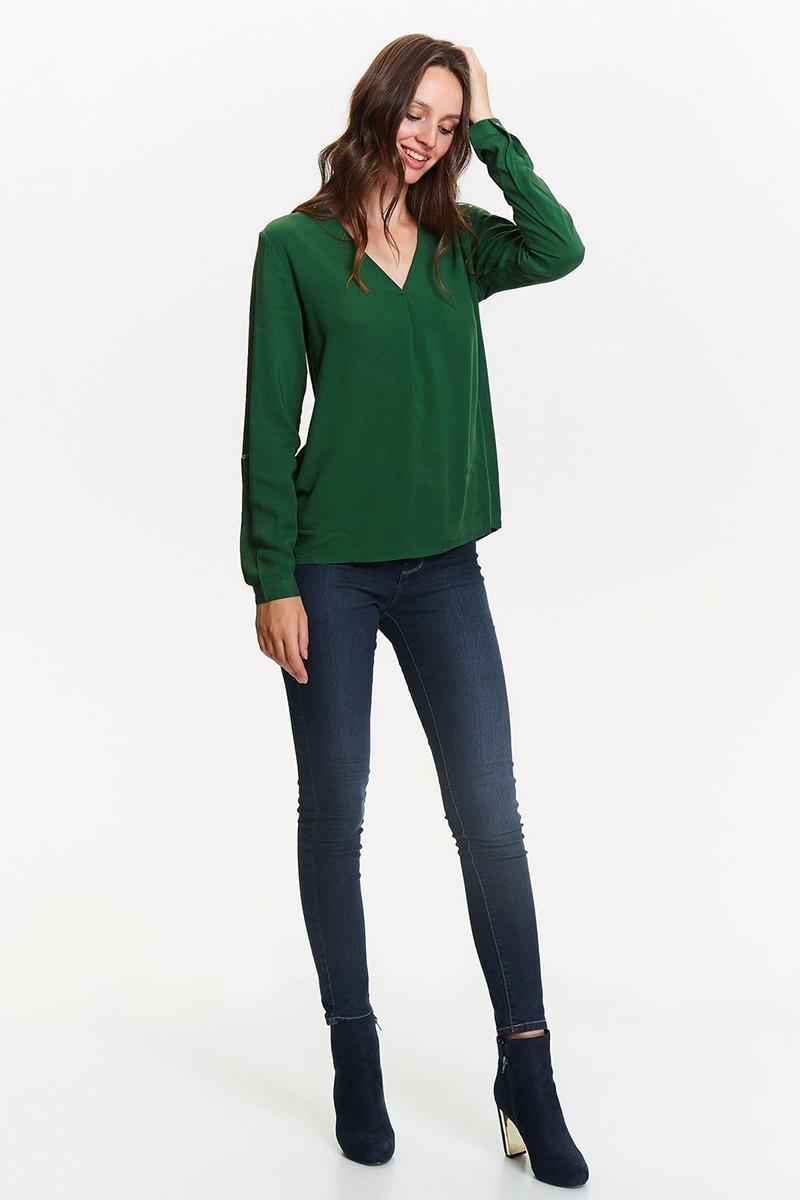 Рубашка женская Top Secret, цвет: зеленый. SKL2390ZI. Размер 40 (48)SKL2390ZI