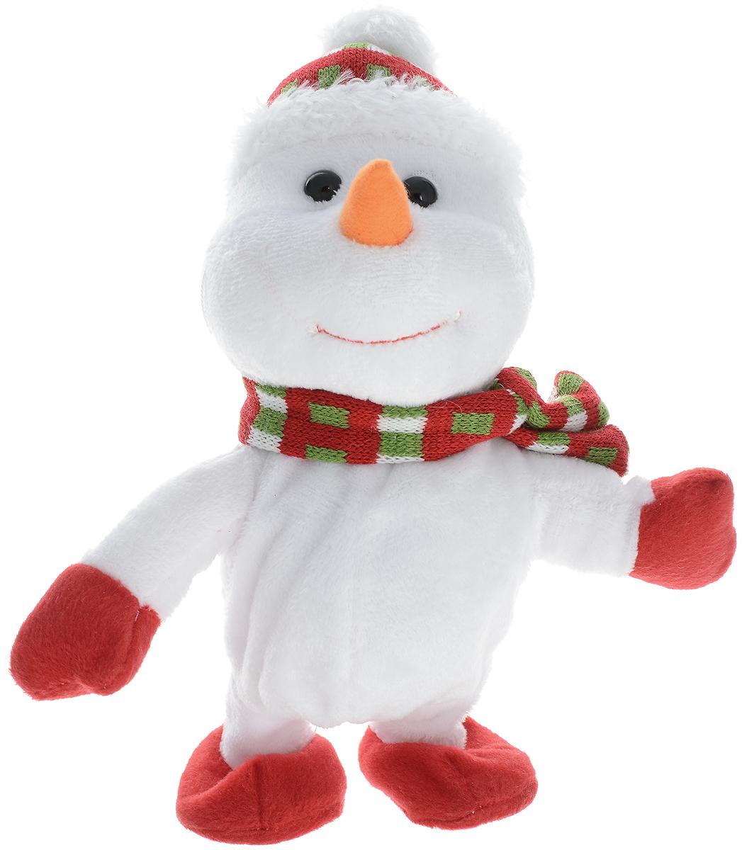 Lapa House Мягкая озвученная игрушка Снеговик Стюи 12 см мягкая игрушка арти м 29 см снеговик 861 002
