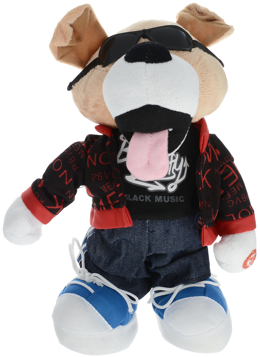 Lapa House Мягкая озвученная игрушка Собака 26 см